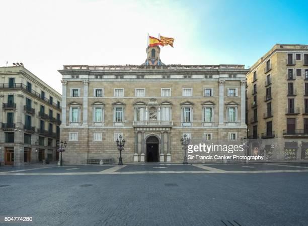 Palau de la Generalitat, seat of the Catalan Government in Barcelona, Catalonia, Spain