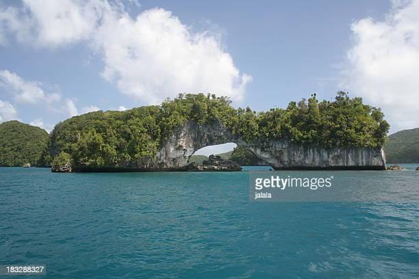 Palau Natural Arch