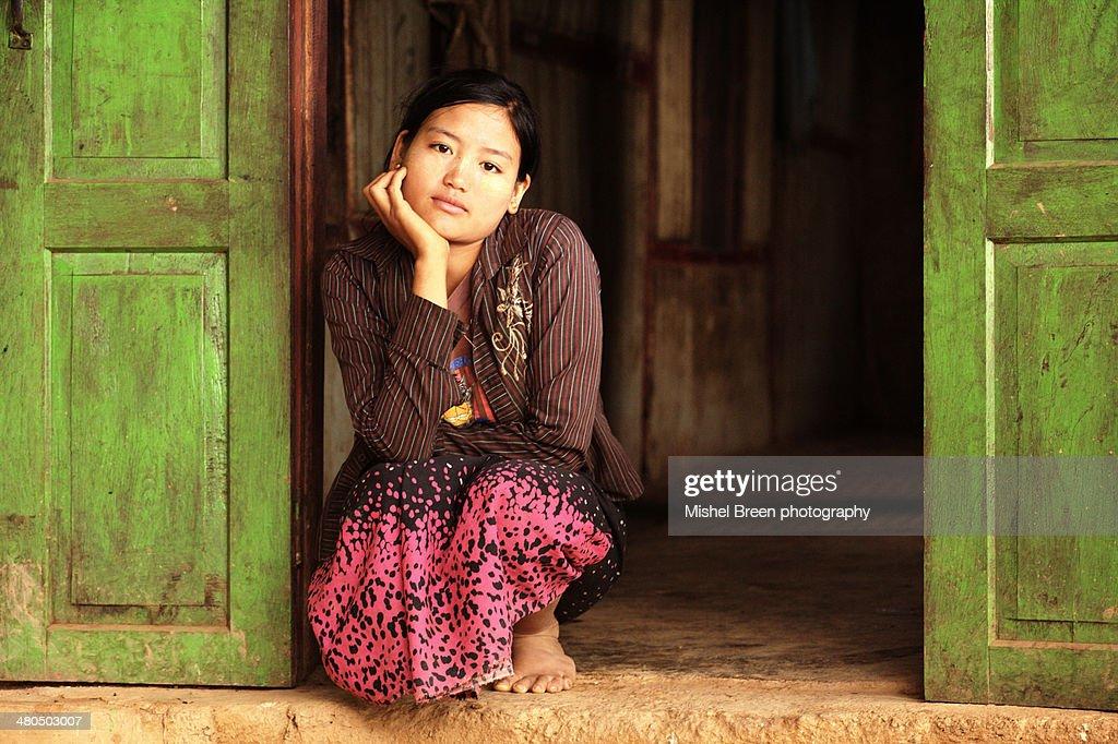 Palaung young woman