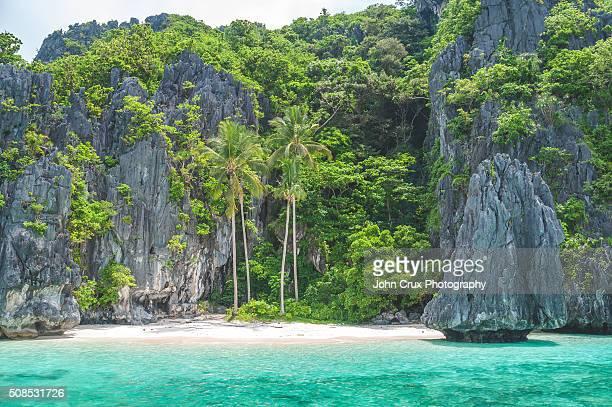 Palawan secluded beach
