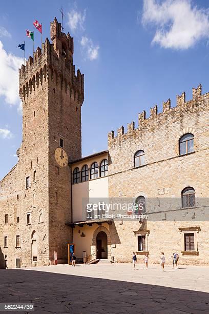 Palazzo dei Priori in Arezzo, Italy.