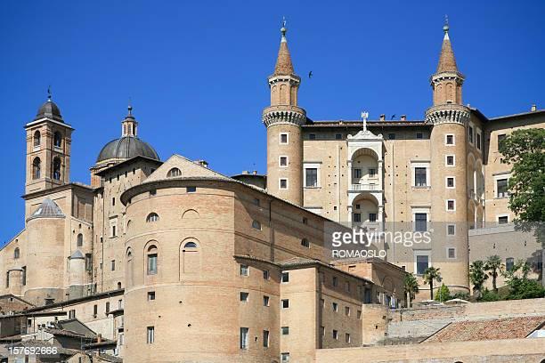 Palazzo Ducale in Urbino, Marche Italy