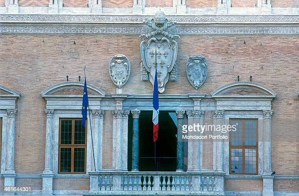 Palazzo Farnese by Michelangelo Buonarroti Antonio Cordini also known as Antonio da Sangallo the Younger Giacomo della Porta Jacopo Barozzi also...