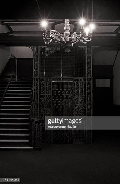 Palazzo, Hastings - elegant, dark, palace lobby