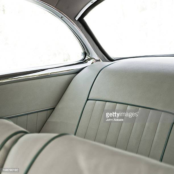 Pale Vintage Auto Interior