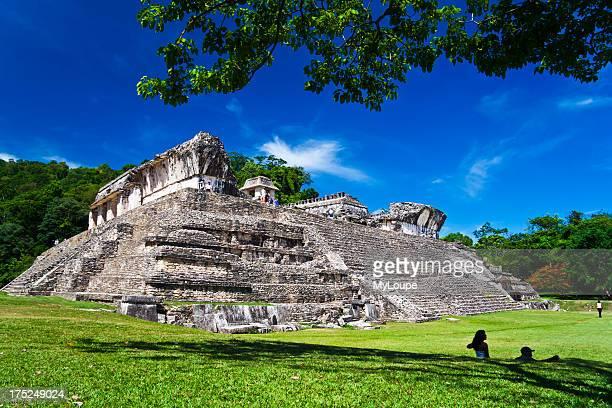 Palenque Palace Chiapas Mexico