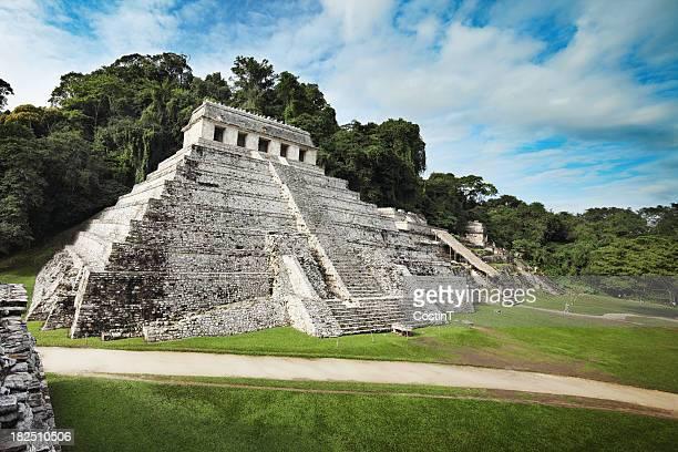 Ruinas de Palenque-templo de las inscripciones