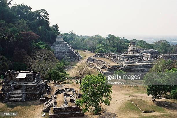 Palenque los templos