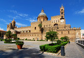 The Cathedral of Palermo is an architectural complex in Palermo (Sicily, Italy). The church was erected in 1185 by Walter Ophamil (or Walter of the Mill), the Anglo-Norman archbishop of Palermo and Ki