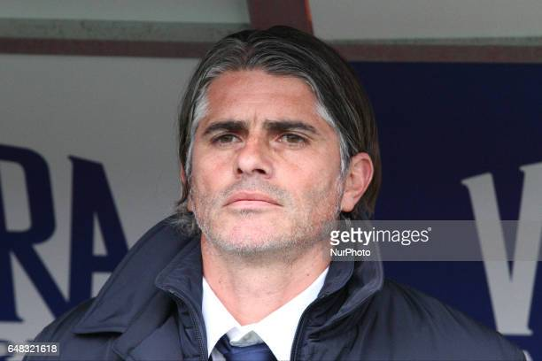 Palermo coach Diego Lopez during the Serie A football match n27 TORINO PALERMO on at the Stadio Olimpico Grande Torino in Turin Italy
