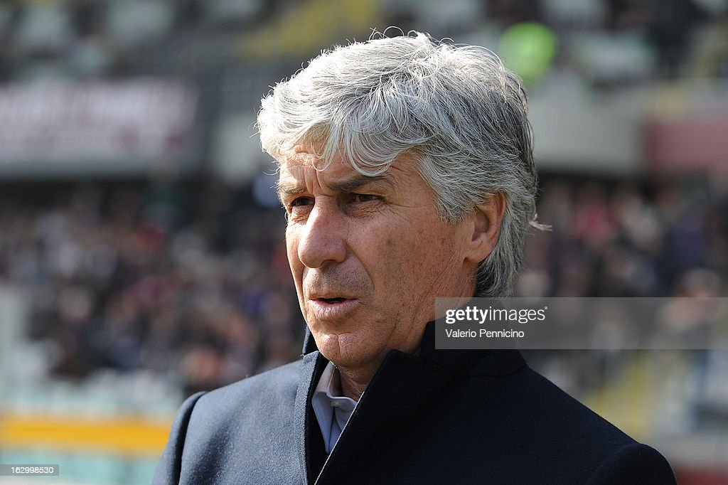 Palermo head coach <a gi-track='captionPersonalityLinkClicked' href=/galleries/search?phrase=Gian+Piero+Gasperini&family=editorial&specificpeople=4667555 ng-click='$event.stopPropagation()'>Gian Piero Gasperini</a> looks on during the Serie A match between Torino FC and US Citta di Palermo at Stadio Olimpico di Torino on March 3, 2013 in Turin, Italy.