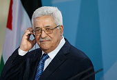 Palestinian Authority President Mahmoud Abbas speaks to the media during a press conference at the Chancellery on May 5 2011 in Berlin Germany Abbas...