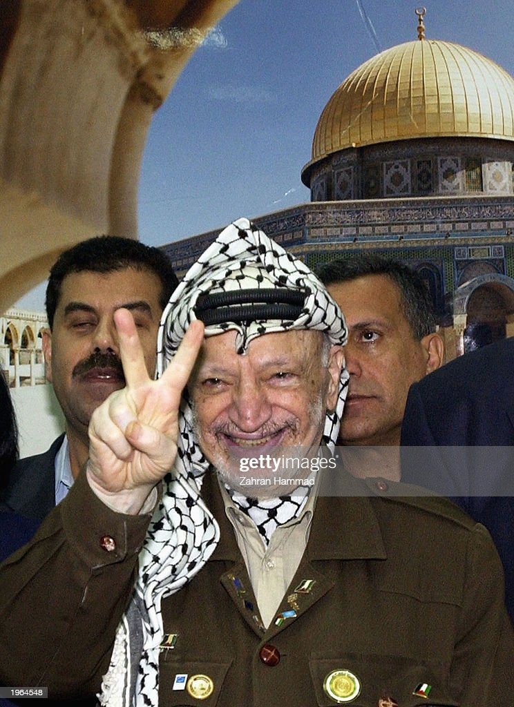 palestinian leader yasser arafat Yasser arafat - mohammad abdel-raouf arafat al-qudwa al-husseini, also known as abu ammar and al ikhtiar (the old man) - was born in cairo in 1929, though at times he claimed to have been born.