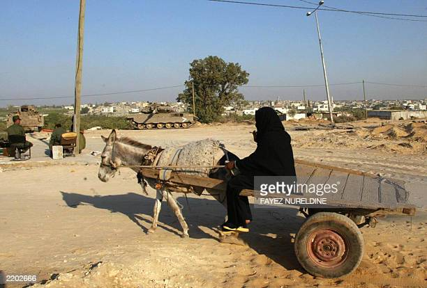 http://media.gettyimages.com/photos/palestinian-on-a-donkey-cart-drives-past-an-israeli-tank-stationed-at-picture-id2202666?s=612x612
