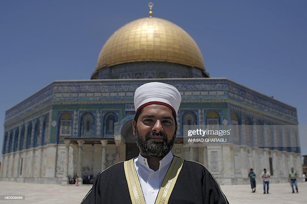 Image result for Sheikh Omar Kiswani, Al-Aqsa director, photos