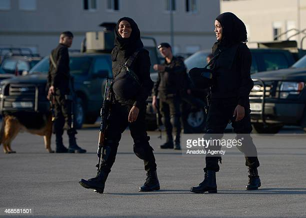 Palestinian Special Forces is established in 2012 with 131 members including 5 women in Eriha West Bank on February 10 2014 The United State...