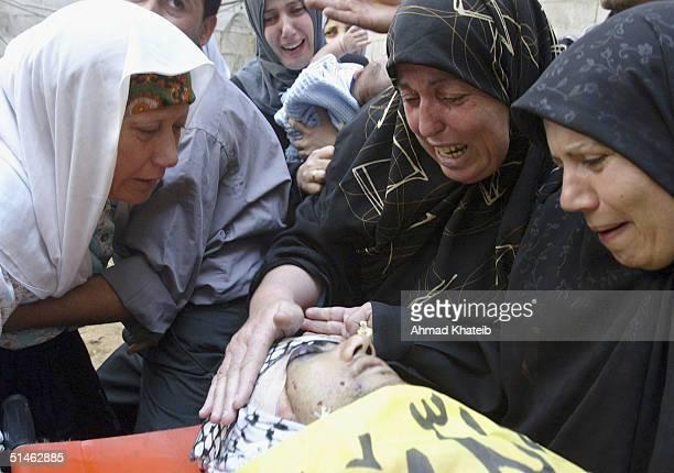 Palestinians mourn Al-Aqssa Fateh Sameh Al-wehedy
