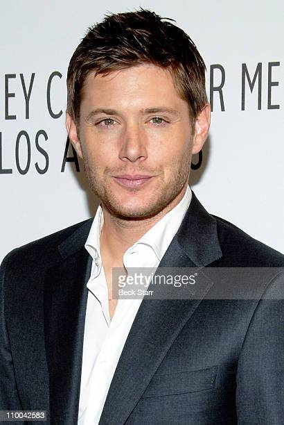 Paley Center for Media's PaleyFest 2011 event honoring 'Supernatural' with actor Jensen Ackles arriving at Saban Theatre on March 13 2011 in Beverly...