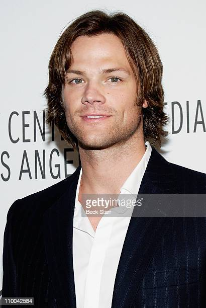Paley Center for Media's PaleyFest 2011 event honoring 'Supernatural' with actor Jared Padalecki arriving at Saban Theatre on March 13 2011 in...