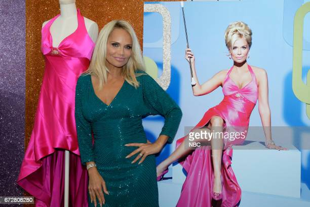 LIVE 'Paley Center Hairspray Live Costume Exhibit Opening' Pictured Kristin Chenoweth at the Paley Center For Media in Beverly Hills April 21 2017