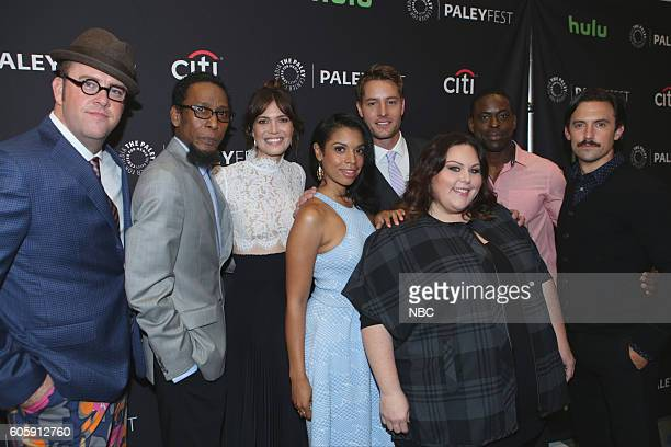 US 'NBC Paleyfest Fall TV Preview' Pictured Chris Sullivan Ron Cephas Jones Mandy Moore Susan Kelechi Watson Justin Hartley Chrissy Metz Sterling K...