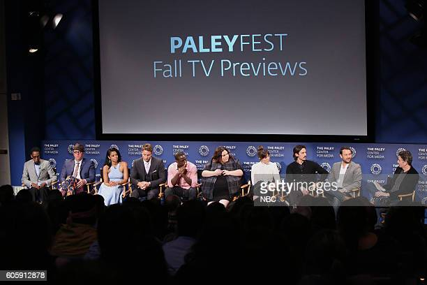 US 'NBC Paleyfest Fall TV Preview' Pictured Ron Cephas Jones Chris Sullivan Susan Kelechi Watson Justin Hartley Sterling K Brown Chrissy Metz Mandy...
