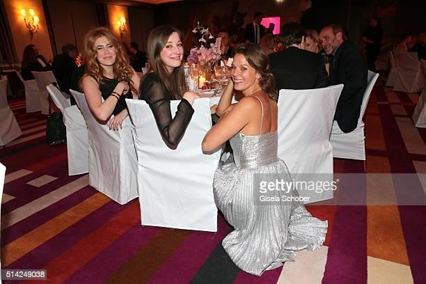 Palina Rojinski Alexandra Maria Lara and Jessica Schwarz during the PEOPLE Style Awards at Hotel Vier Jahreszeiten on March 7 2016 in Munich Germany