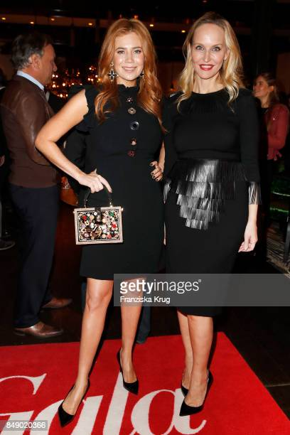 Palina Rojinski and Anne MeyerMinnemann attend the First Steps Award 2017 at Hotel Zoo on September 18 2017 in Berlin Germany