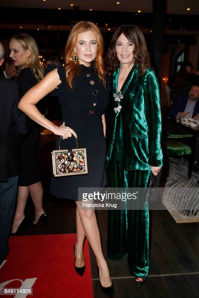 Palina Rojinski and Iris Berben attend the First Steps Award 2017 at Stage Theater on September 18 2017 in Berlin Germany