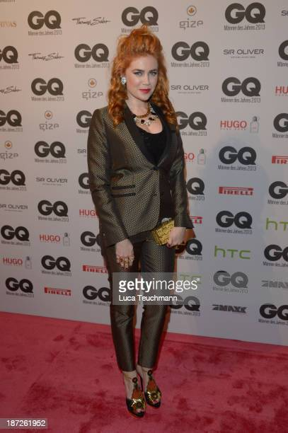 Palina Rojinski arrives at the GQ Men of the Year Award at Komische Oper on November 7 2013 in Berlin Germany