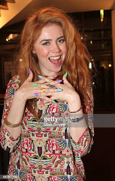 Palina Rojinski attends the 50th Grimme Award at Theater der Stadt Marl on April 4 2014 in Marl Germany