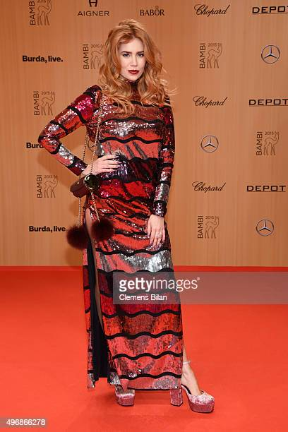 Palina Rojinski attends the Bambi Awards 2015 at Stage Theater on November 12 2015 in Berlin Germany