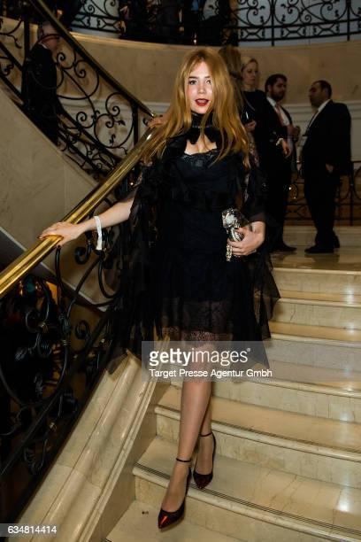 Palina Rojinski attends the Medienboard BerlinBrandenburg Reception during the 67th Berlinale International Film Festival Berlin at on February 11...