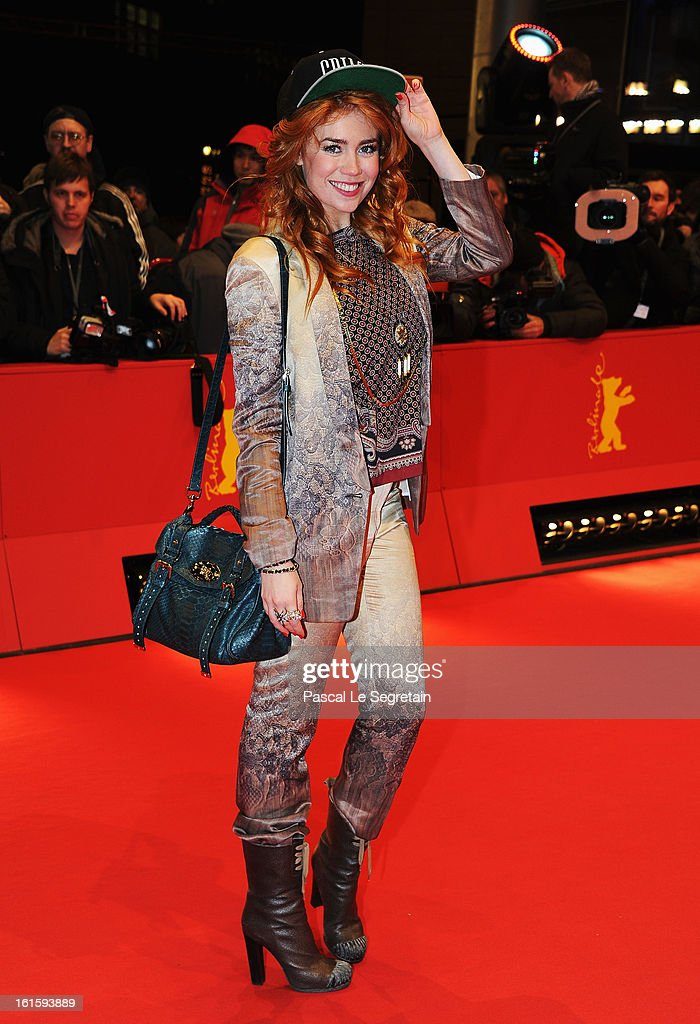 Palina Rojinski attends the 'Side Effects' Premiere during the 63rd Berlinale International Film Festival at Berlinale Palast on February 12, 2013 in Berlin, Germany.