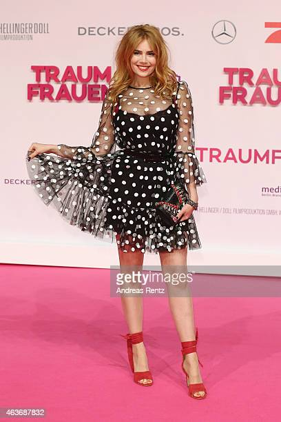 Palina Rojinski attends the Traumfrauen premiere at CineStar on February 17 2015 in Berlin Germany