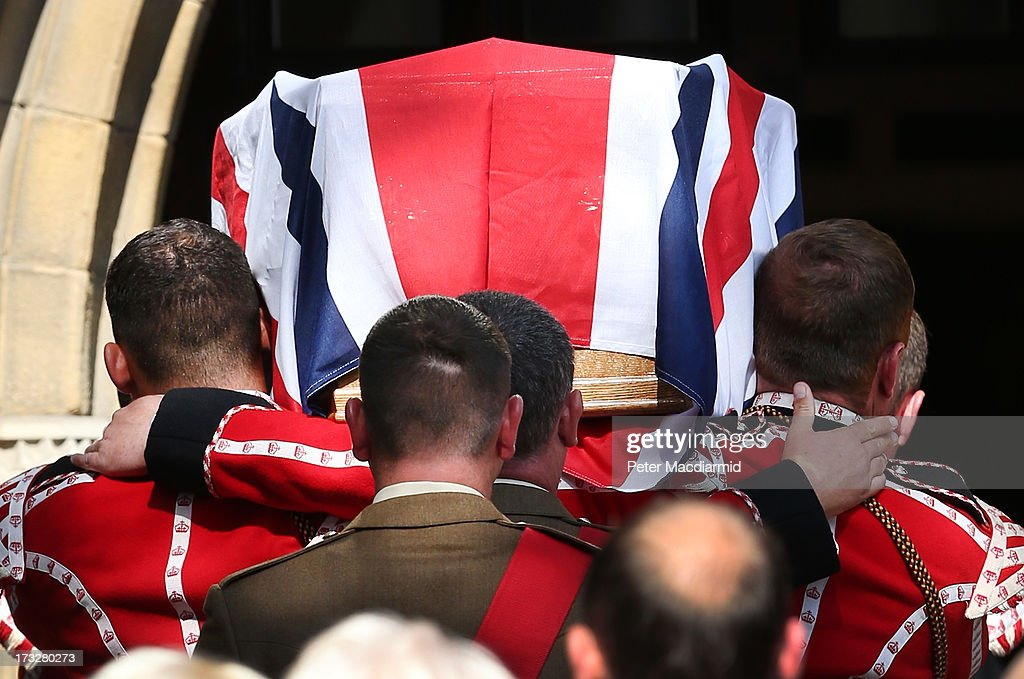 Vigil for Fusilier Lee Rigby Ahead Of Tomorrows Funeral : News Photo