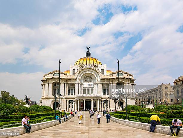 Pallacio de Bellas Artes in Mexico City