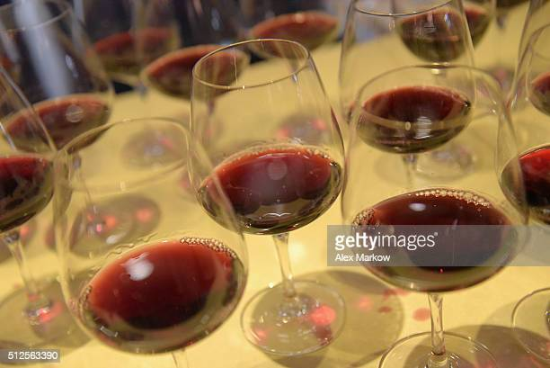 Palm Bay International wines being served at a Dinner Hosted By Marc Vetri And Giovanni Rocchio Part of the Taste Fort Lauderdale Seriesduring 2016...