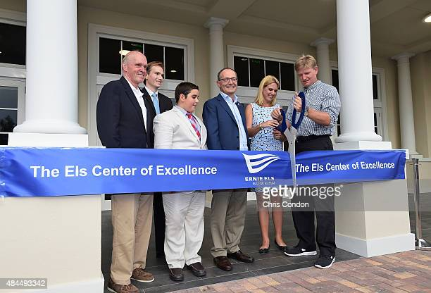 Palm Beach County Commissioner Hal Valeche John Foster from the office of Congressman Patrick Murphy Zack Poerio student Guiseepe Ciucci Chairman of...