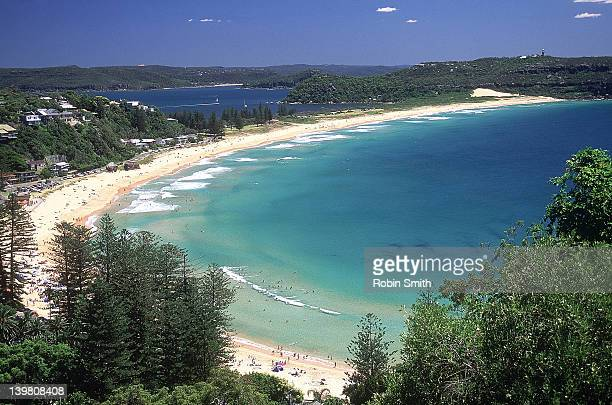 Palm beach with Pittwater & Barrenjoey Head in Background, Sydney