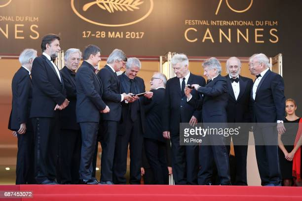 Palm D'or winning directors Australian director Jane Campion British Ken Loach Austrian Michael Haneke Greek director Costa Gavras Romanian director...