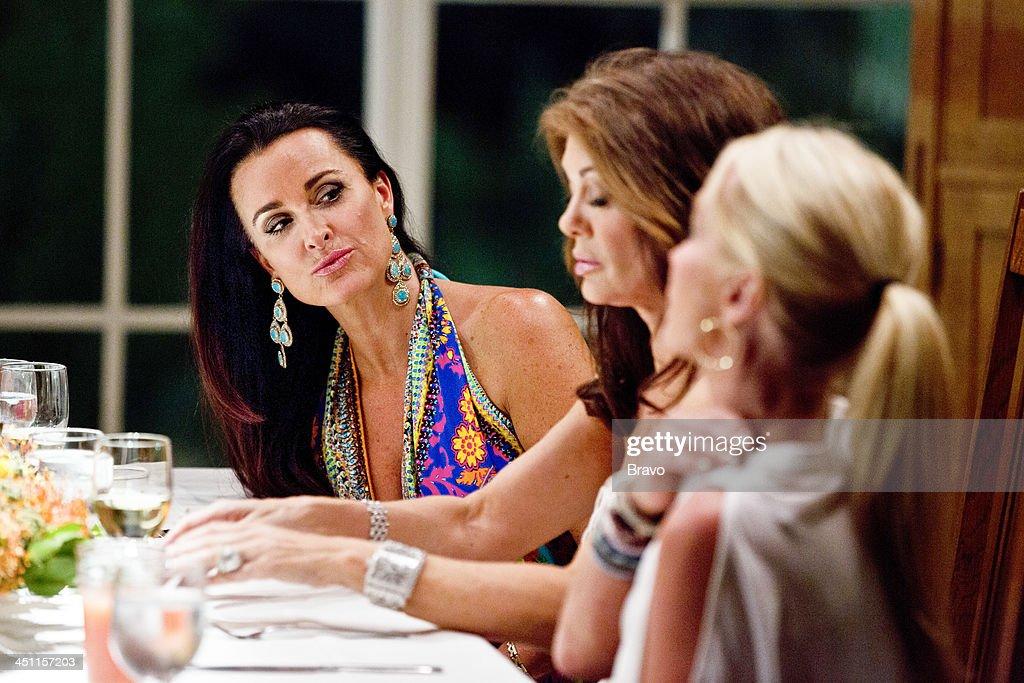 HILLS -- 'Palm Springs Breakers' Episode 406/407 -- Pictured: (l-r) Kyle Richards, Lisa Vanderpump, Kim Richards --