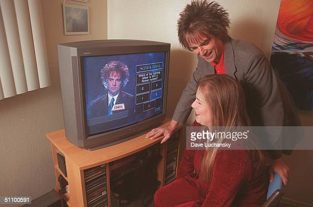 Palm Springs Ca Curtis Warren And Wife Phyllis Both 40 Watch Warren's Historic Moment When He Won $410000 On The Gameshow Greed In November 1999