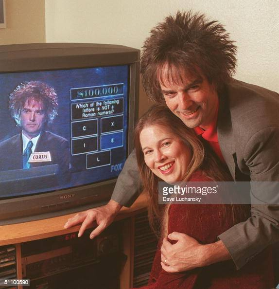 Palm Springs Ca Curtis Warren And Wife Phyllis Both 40 With Warren's Historic Moment When He Won $410000 On The Gameshow Greed In November 1999