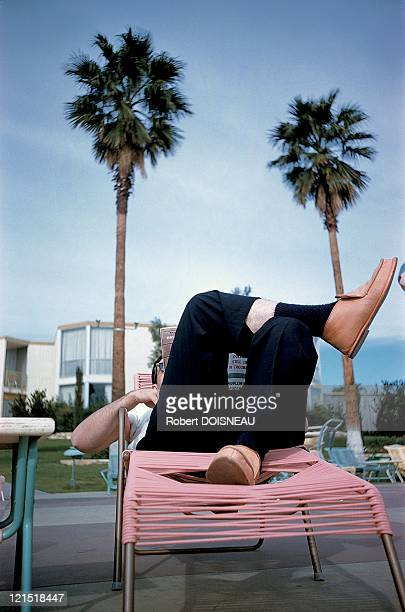 Palm Springs United States On January 1960 Relaxation