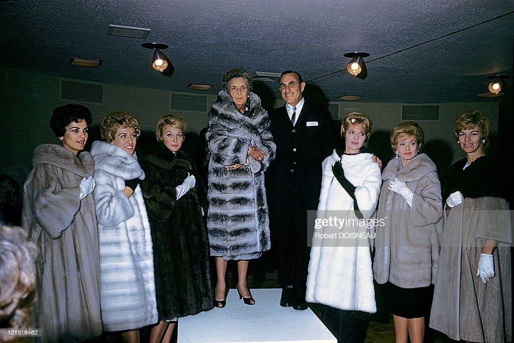 Palm Springs, United States, On January, 1960. Women Coat.
