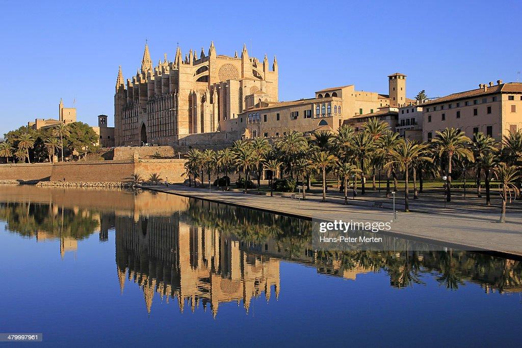 Palma de Mallorca, Cathedral La Seu, Parc de Mar