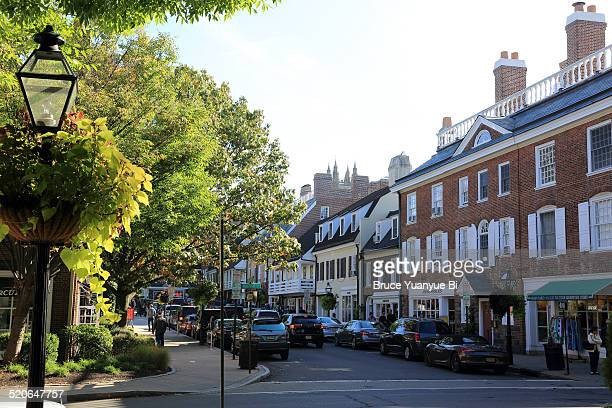 Palmer Square at town of Princeton