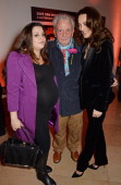 Paloma Bailey David Bailey and Catherine Bailey attend a private view of Bailey's Stardust a exhibition of images by David Bailey supported by Hugo...