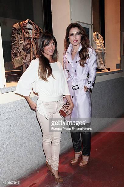 Paloma Cuevas and Marta Gonzalez attend 'Del Ruedo a la Pasarela' exhibition on May 29 2014 in Madrid Spain